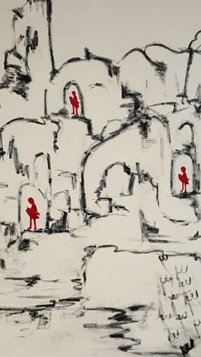Narratives, oil on canvas