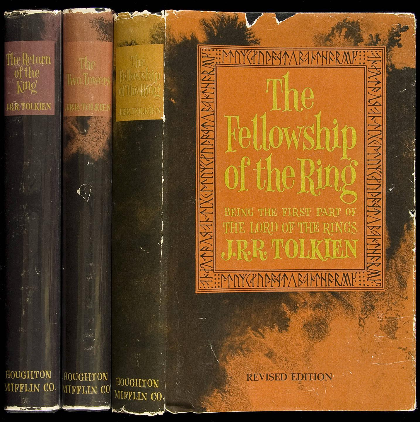 Research and Buy J R R  Tolkien First Editions  Limited Editions     One of the most collectible authors today  the father of the epic fantasy   Professor J R R  Tolkien is quite possibly one of the best places to start  should