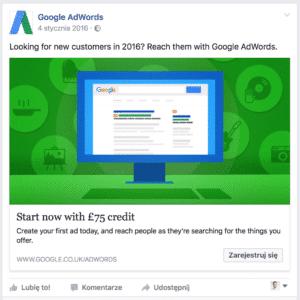 Grafiki reklamowe na Facebooku – wskazówki i wytyczne Screen google 3 300x300
