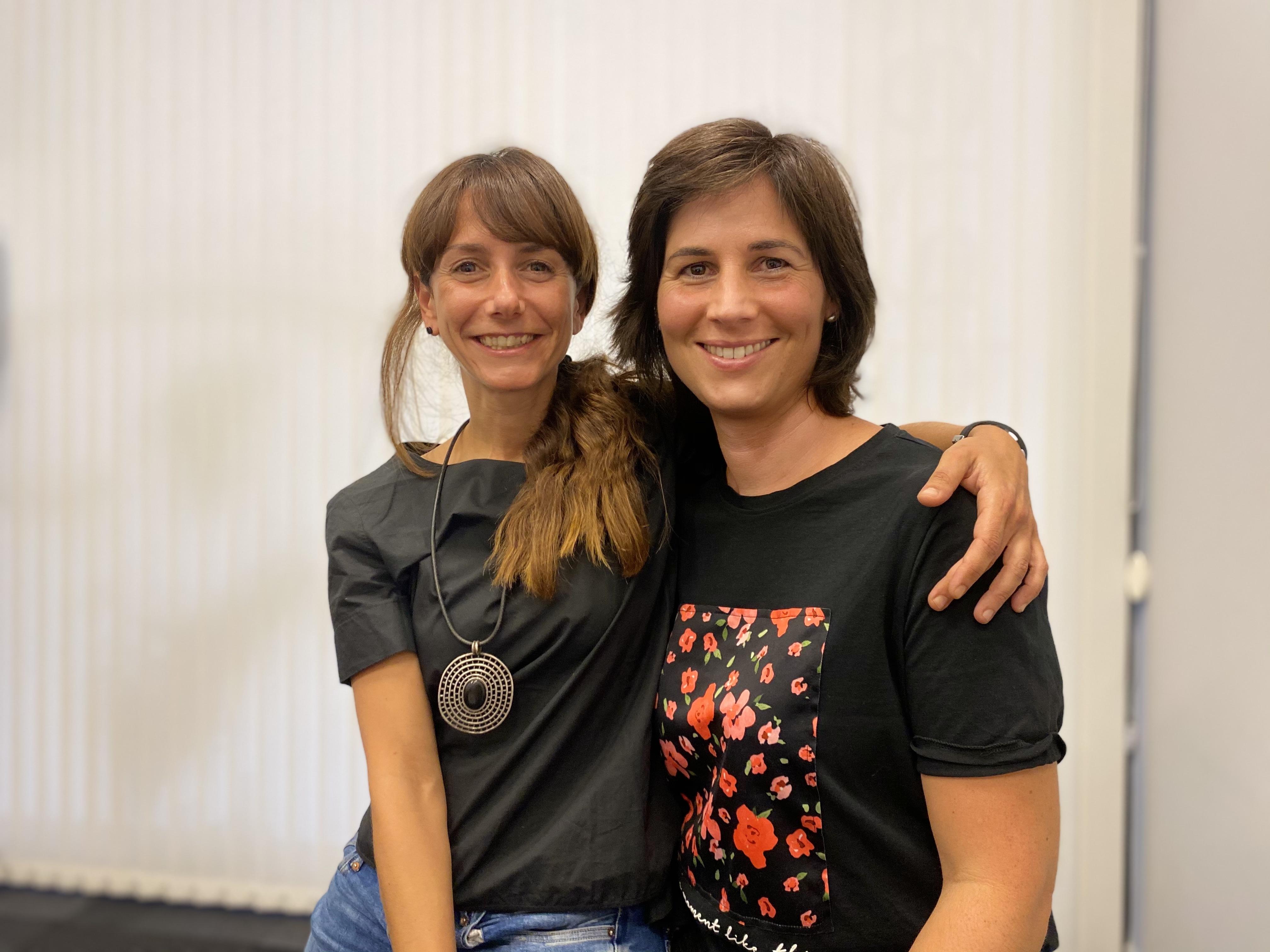 Maite Goicoechea y María Jiménez
