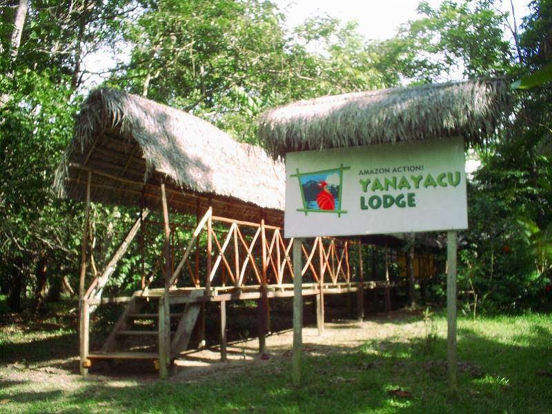 Amazon Action Yanayacu Lodge