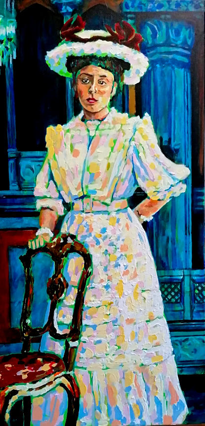 Johana Kirchner painting