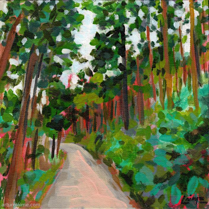 Way to Lautenfelsen by Arturo Laime