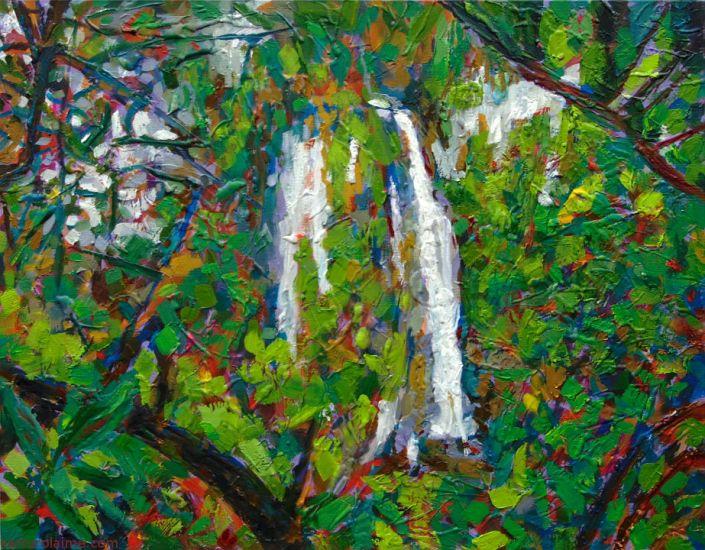 Wasserfall Gemälde