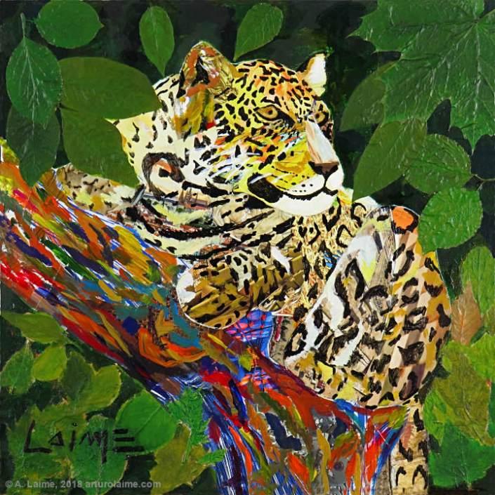Jaguar Gemälde