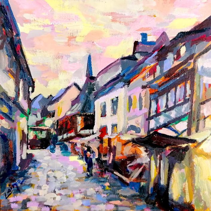 Mittelalter Markt von Arturo Laime