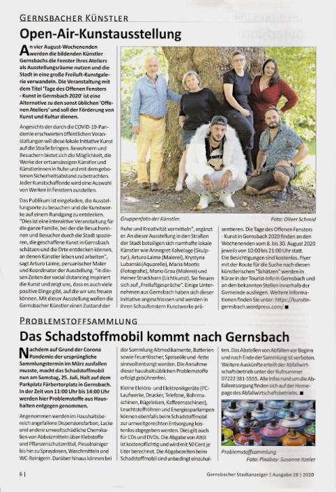 Arturo Laime im Badisches Tagblatt02