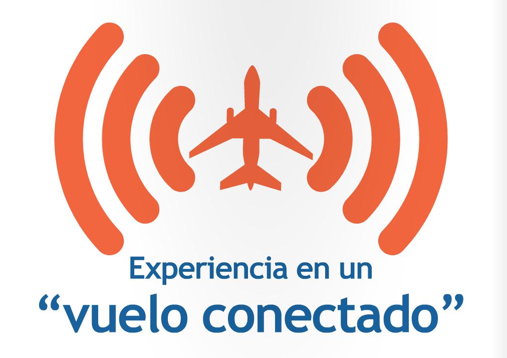 Experiencia en un vuelo conectado