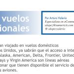 Wi-Fi en vuelos internacionales