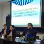 Evento sobre retos y oportunidades para impulsar el comercio en plataformas electrónicas