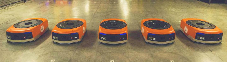 Fuerza Laboral robótica de Amazon