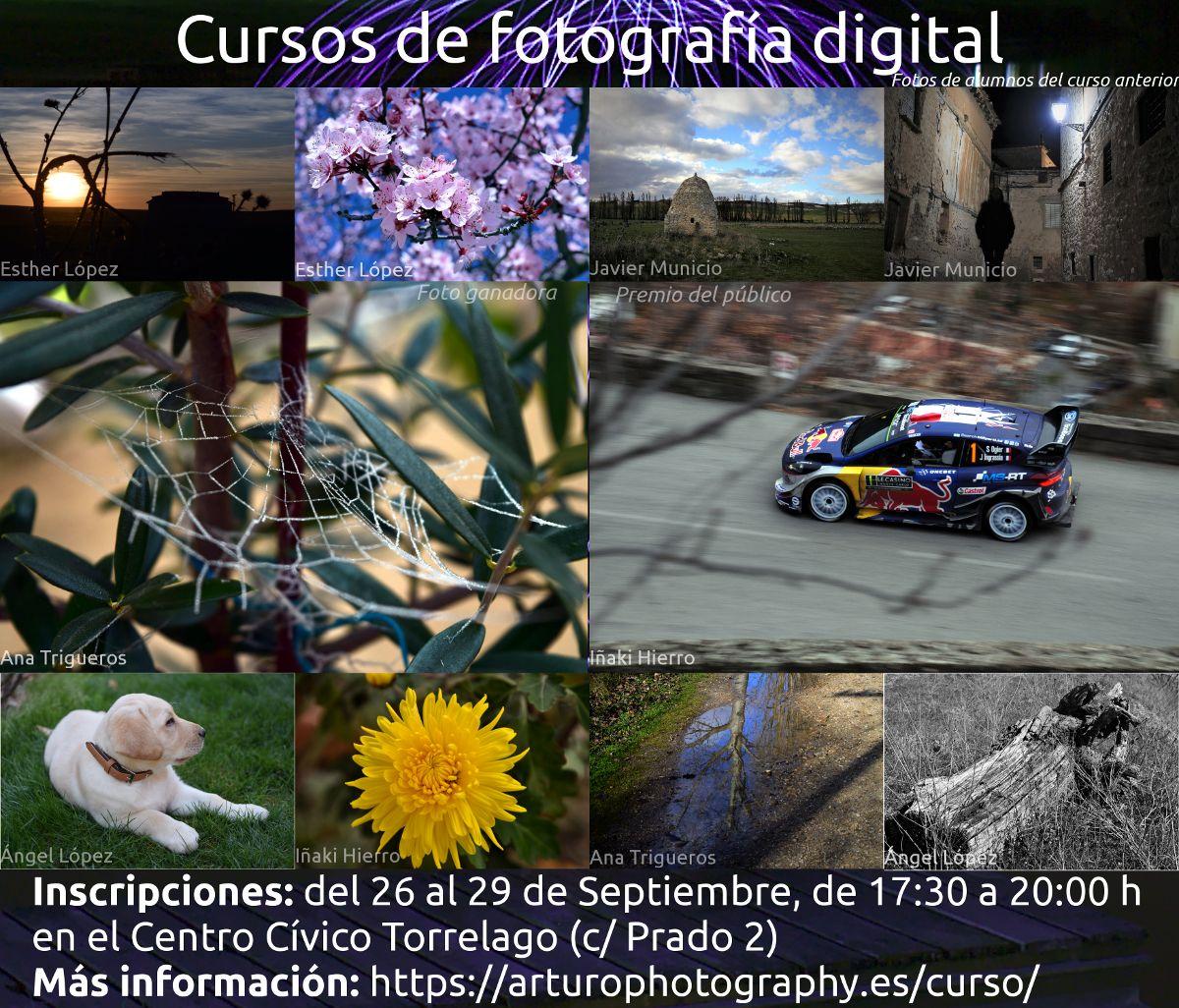Curso de fotografía digital 2017/18