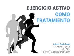 Ejercicio terapéutico en fisioterapia