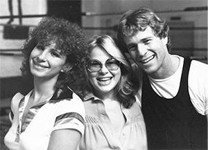 Barbra Striesand, Sue Mengers, Ryan O'Neal 1978