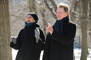 Ali Macgraw and Ryan O'Neal appear together in Buffalo