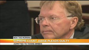 News that Judge John Michalek admitted he was corrupt startled many people in the area.