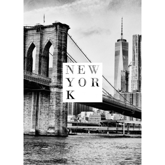 Black And White Poster New York Artwall And Co