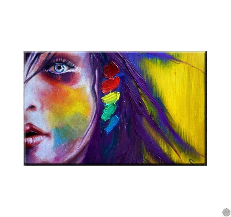 Tableau Dco Femme En Couleur ArtWall And Co