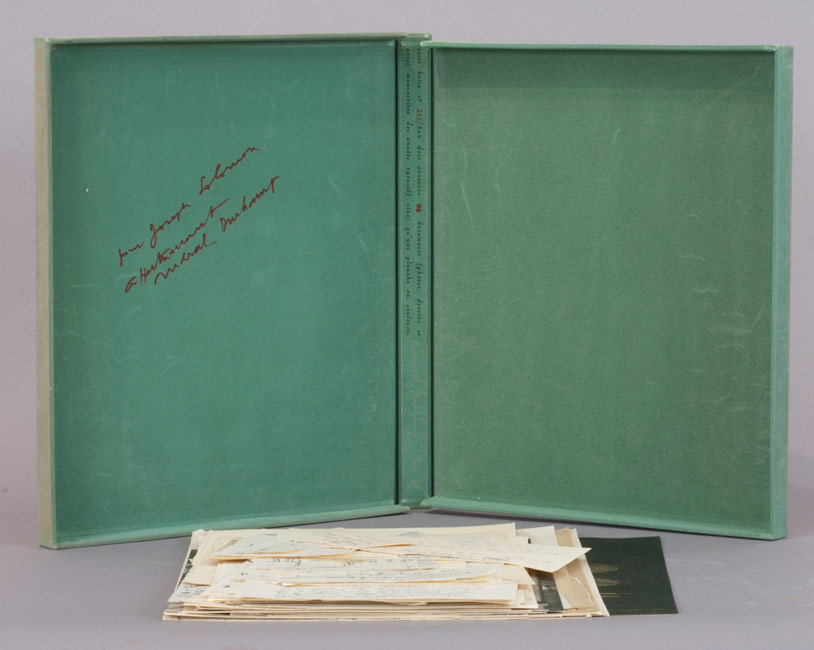 Marcel Duchamp / The Bride Stripped Bare by Her Bachelors Even (or) The Green Box (interior)