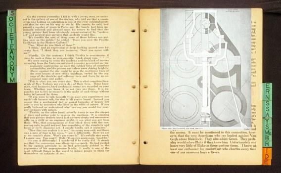 Marcel Duchamp / Some French Moderns Says McBride