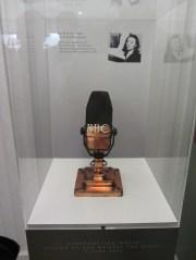 An original BBC Radio Microphone