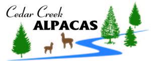 Cedar Creek Alpacas logo color