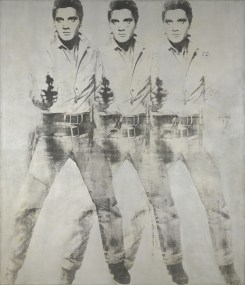 Triple Elvis, 1963 sold for $81.9 Million at Auction in 2014 ©AWF