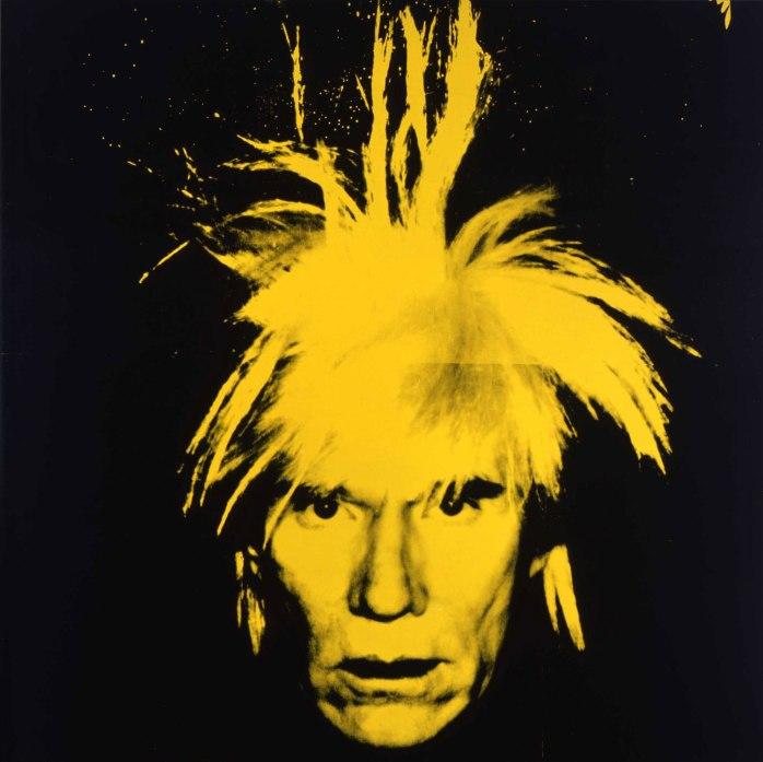 Self-portrait, 1986 ©AWF