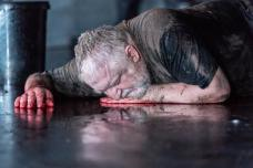 The Tragedy of King Richard the Second at the Almeida. Simon Russell Beale. Photo credit Marc Brenner