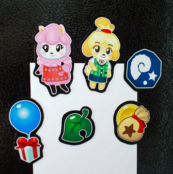 ACNL Magnets - Action Shot!