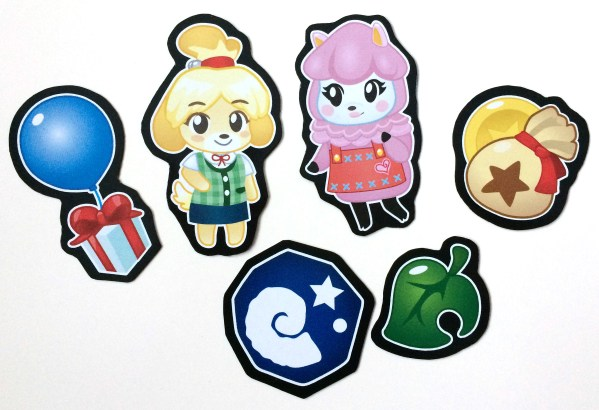 Animal Crossing Magnets