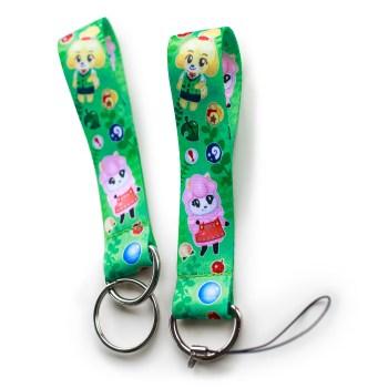 Animal Crossing Wrist Fob
