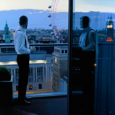 London Evening by Iain Faulkner