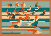 Rowers By Eliza Southwood