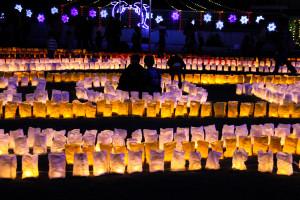 いさはや灯りファンタジア2015