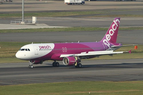 Peach AviationのA320