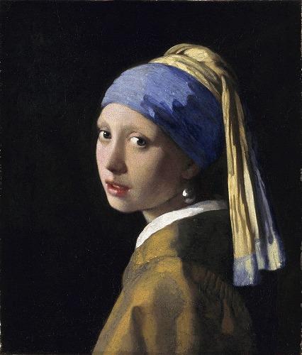 フェルメール 真珠の耳飾の少女(青いターバンの少女)