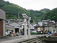 戸石神社の鳥居