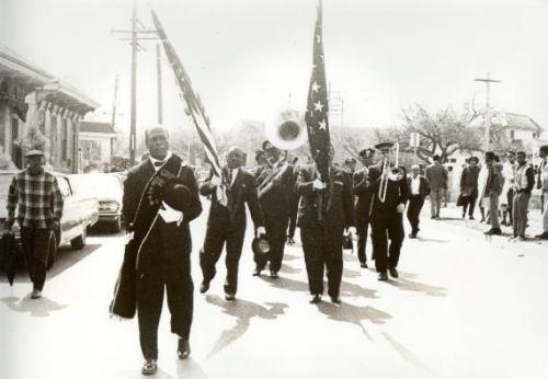 ニューオリンズのジャズ葬式