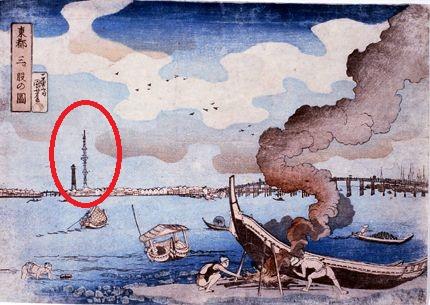 江戸時代のスカイツリー