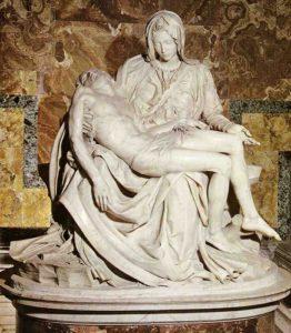 ミケランジェロ彫刻「ピエタ」