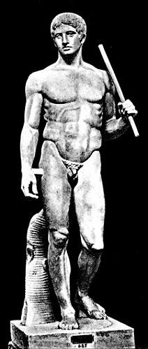 ポリュクレイトス『ドリュポーロス(槍を持つ人)』