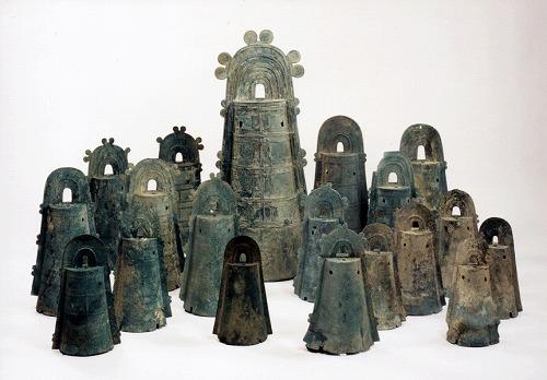 大岩山銅鐸と滋賀県出土銅鐸・小銅鐸