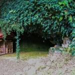 旧石器時代に人間が定住していた福井洞窟