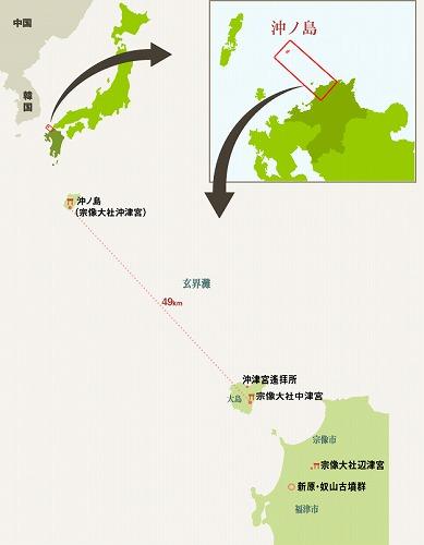資産の位置地図