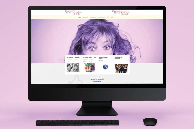Site web - Emotion Couleur