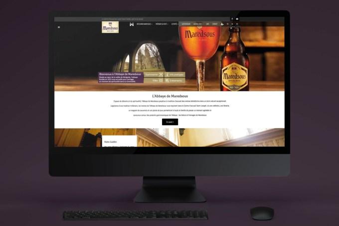 Site web - Maredsous Tourisme
