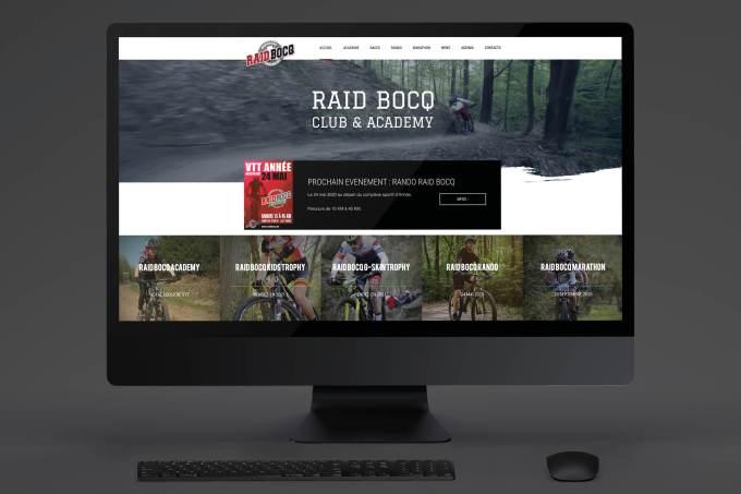 Site web - Raid Bocq