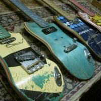 Guitarras com shape de skate