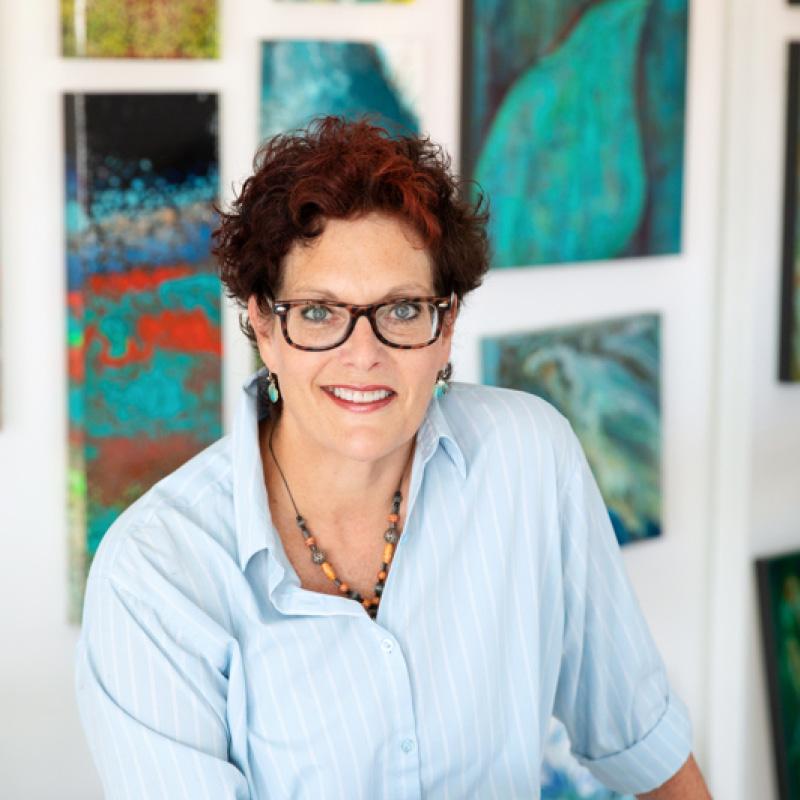 Maggie Ziegler artist and designer Artwork Studio Courtenay BC
